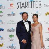 Juan Peña y su mujer en la Gala Starlite de Marbella 2018