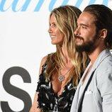 Heidi Klum y Tom Kaulitz en la alfombra roja de la Gala de Verano de Unicef en Italia