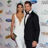 David Bisbal y Rosanna Zanetti en la Gala Starlite de Marbella 2018