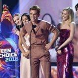 El elenco de 'Riverdale' en la gala de los premios Teen Choice 2018