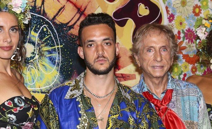 C. Tangana en la fiesta 'Flower Power' 2018 en Ibiza