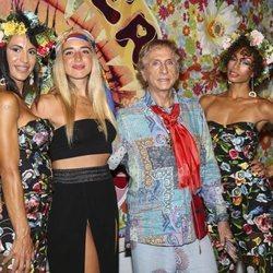 Mimi Doblas en la 'Flower Power' 2018 en Ibiza