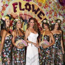 Mar Saura en la 'Flower Power' 2018 en Ibiza