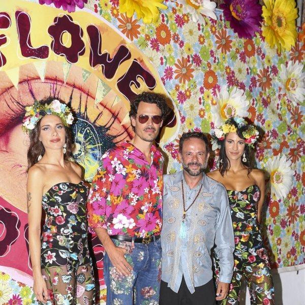 Famosos en la fiesta 'Flower Power' 2018 en Ibiza
