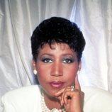 Retrato de Aretha Franklin para una revista en 1980