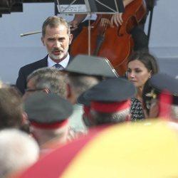 Los Reyes Felipe y Letizia en los actos de homenaje por el primer aniversario de los atentados de Barcelona y Cambrils
