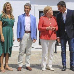 Angela Merkel visita España 2018