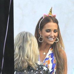 Paula Echevarría se lo pasó de lujo en el 10º cumpleaños de su hija