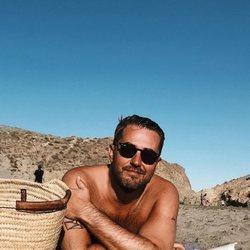 Màxim Huerta durante sus vacaciones en Almería