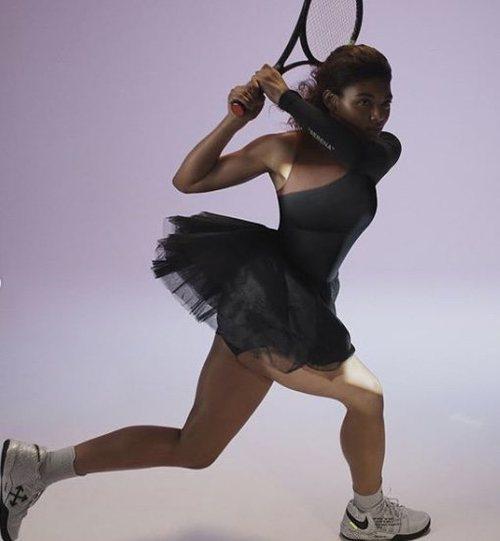 Serena Williams es uno de los rostros de Nike más aplaudidos por sus mensajes