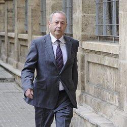 El Juez Castro en los juzgados de Palma