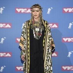 Madonna en la alfombra roja de los VMAs 2018