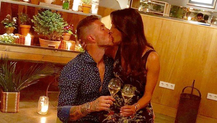 Sergio Ramos y Pilar Rubio celebran su sexto aniversario de noviazgo