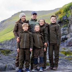 La Familia Real danesa de visita oficial en las Islas Faroe