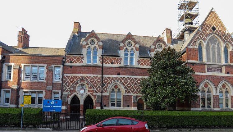 Fachada colegio Thomas's Battersea de Londres