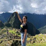 Cristina Pedroche en el Machu Picchu