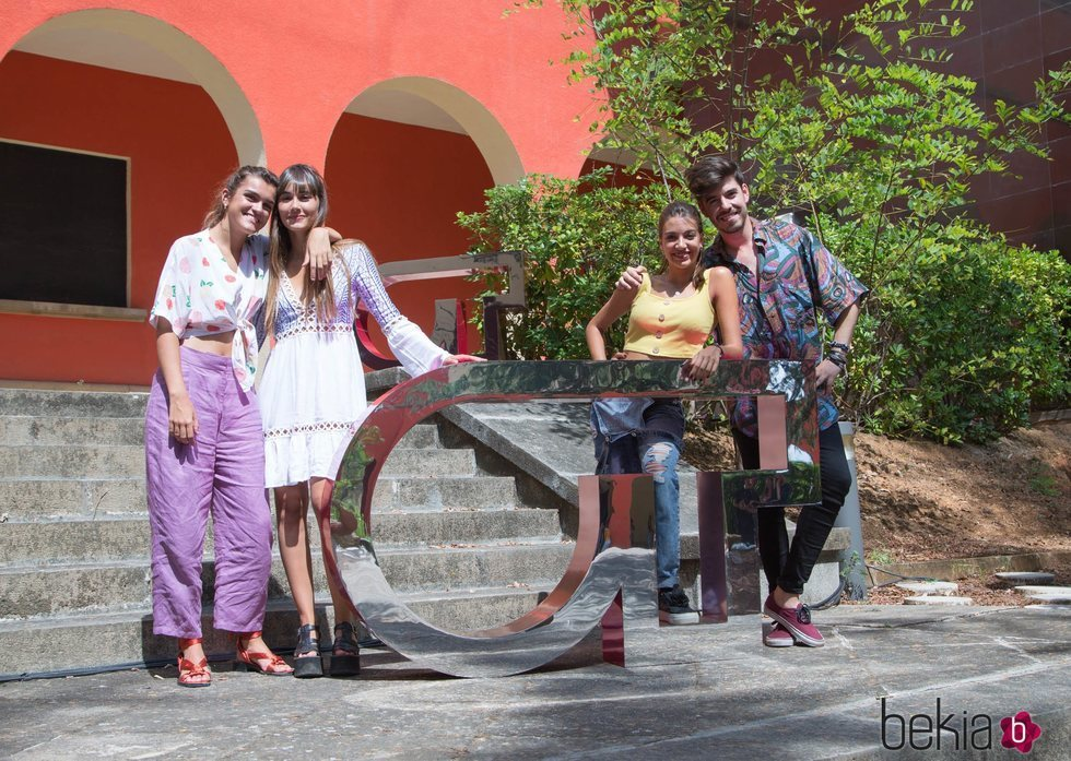 Amaia, Aitana, Ana Guerra y Roi Ménez visitan el cásting de 'OT 2018'