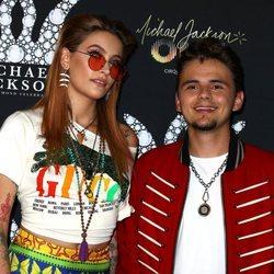 Paris y Prince Jackson en el evento 'Michael Jackson Diamond'