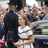 Ingrid Alexandra de Noruega en las Bodas de Oro de los Reyes Harald y Sonia