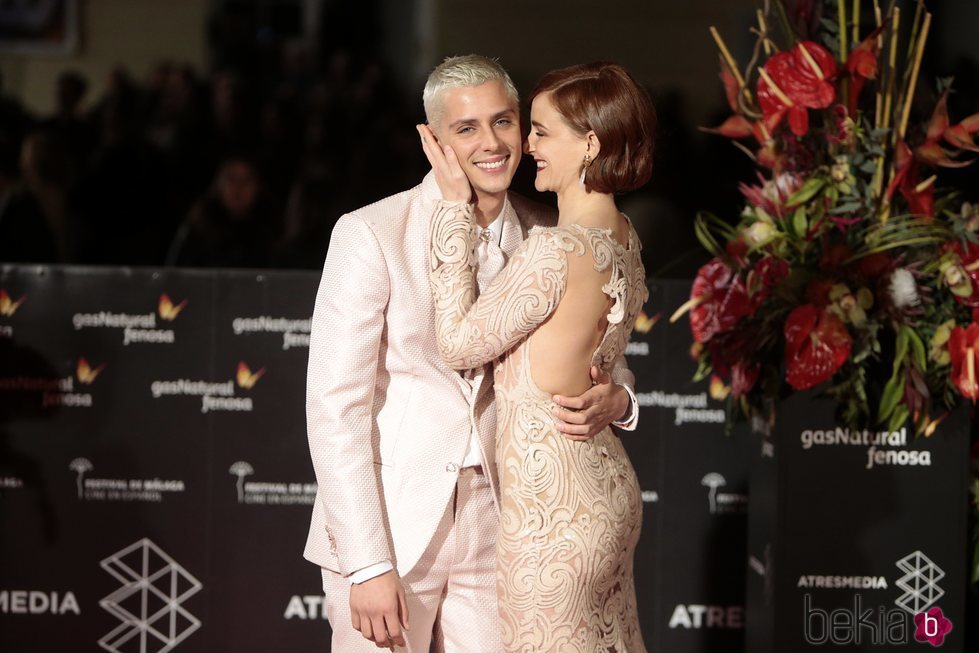 Eduardo Casanova y Ana Polvorosa en el Festival de Cine de Málaga de 2017