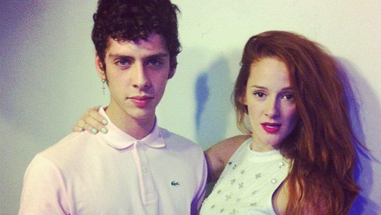 Eduardo Casanova y Ana Polvorosa en una discoteca de Madrid