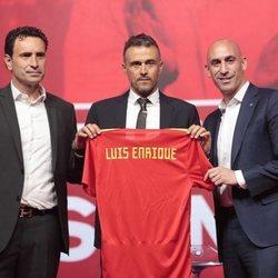 Luis Enrique presentado como técnico de la Selección de España