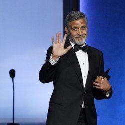 George Clooney en los premios AFI Life Achievement Award, 2018