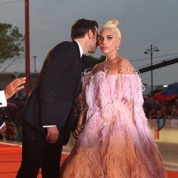Bradley Cooper y Lady Gaga en el 75 Festival Internacional de Cine de Venecia