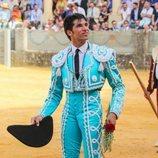 Cayetano Rivera toreando en la Goyesca 2018