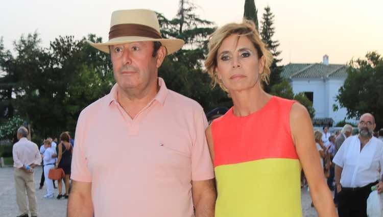 Ágatha Ruiz de la Prada con El Chatarrero en la Goyesca 2018