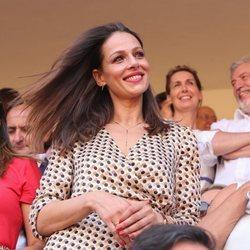 Eva González muy feliz en la Goyesca 2018