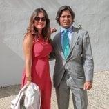 Lourdes Montes y Fran Rivera llegando a la Goyesca 2018