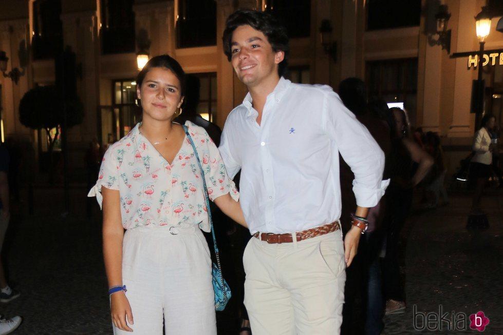 Cayetana Rivera y Curro Soriano tras la corrida Goyesca de Ronda 2018