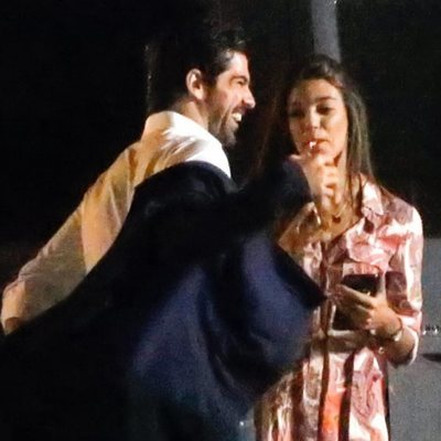 Ana Guerra y Miguel Ángel Muñoz se sonríen cómplices