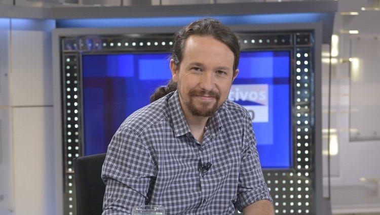 Pablo Iglesias, entrevista en Telecinco