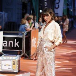 Verónica Echegui en la premiere de 'El Continental' en el FesTVal 2018