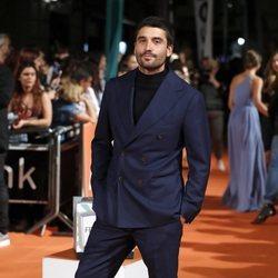 Álex García en la premiere de 'El Continental' en el FesTVal 2018