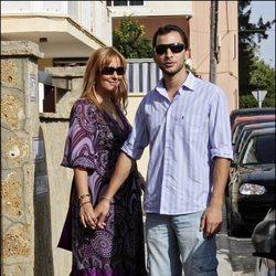 Rosario Mohedano y Antonio Tejado en 2008