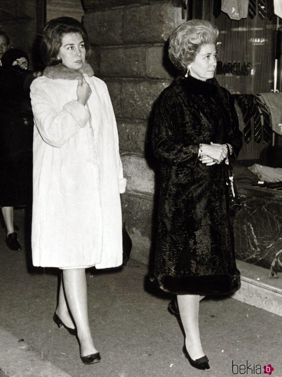 La Reina Sofía y Federica de Grecia