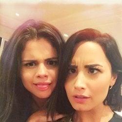 La foto con la que Demi Lovato volvió a seguir a Selena Gomez en 2015