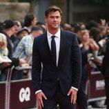 Chris Hemsworth en los Premios Hombres del año GQ 2018