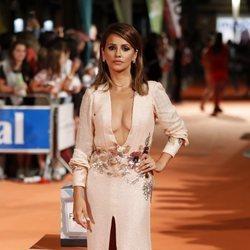 Mónica Cruz en la premiere de la segunda temporada de 'Velvet Colección' en el FesTVal de Vitoria