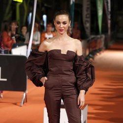 Marta Hazas en la premiere de la segunda temporada de 'Velvet Colección' en el FesTVal de Vitoria