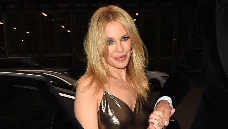 Kylie Minogue en los Premios Hombres del año GQ 2018