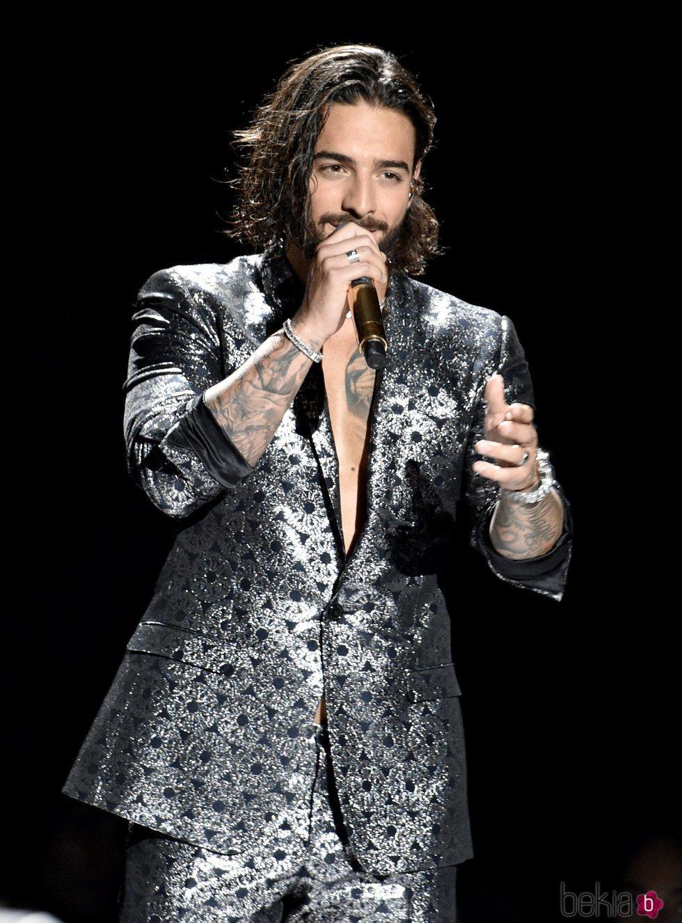 Maluma en los MTV Video Music Awards 2018
