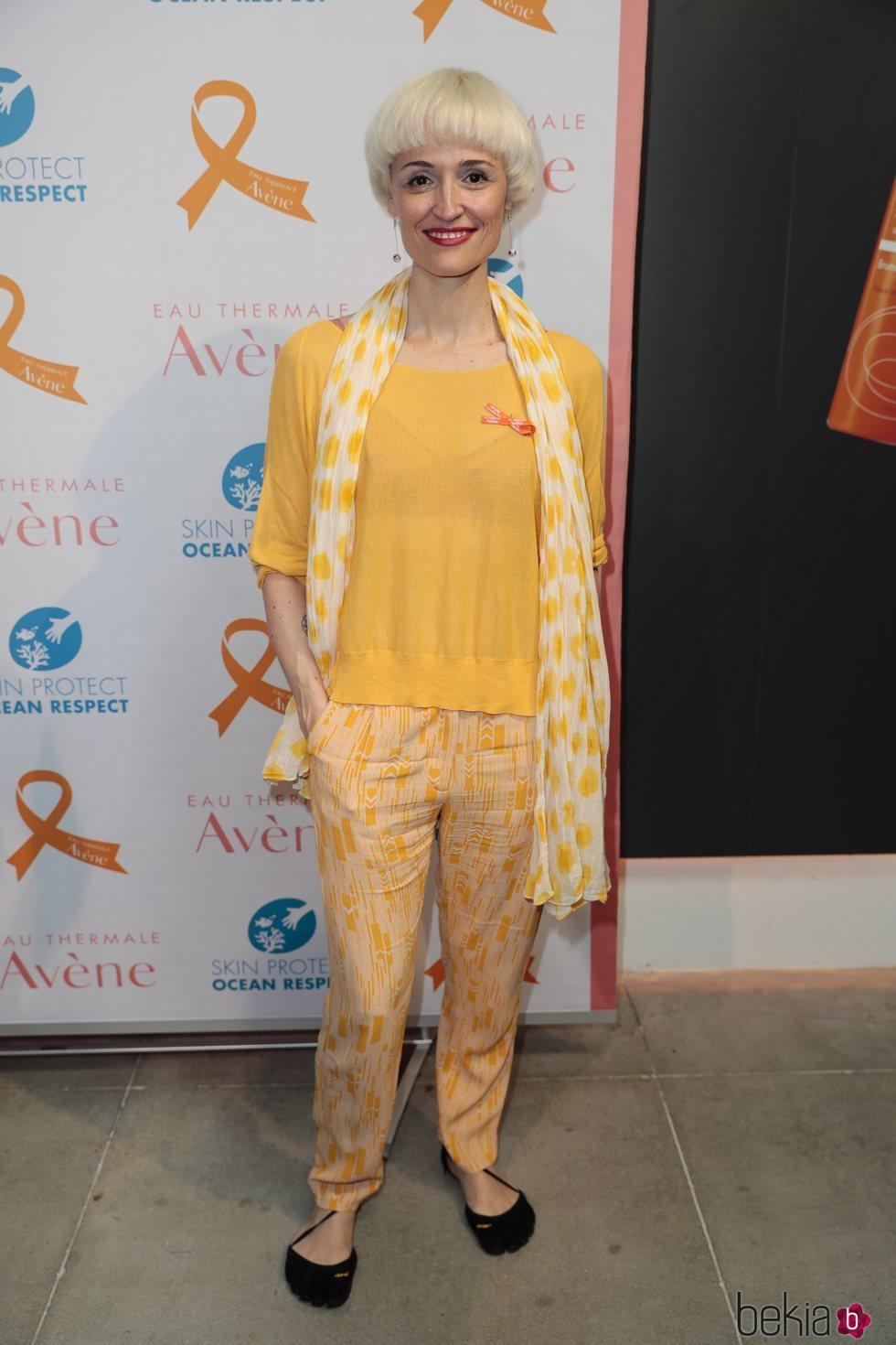 Laura Pamplona durante un evento
