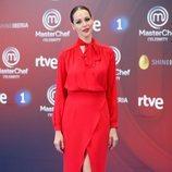 Eva González en la presentación de 'Masterchef Celebrity 3' en el FesTVal de Vitoria 2018