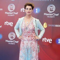 Antonia Dell'Atte en la presentación de 'Masterchef Celebrity 3' en el FesTVal de Vitoria 2018