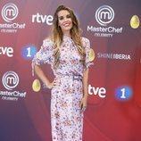Ona Carbonell en la presentación de 'Masterchef Celebrity 3' en el FesTVal de Vitoria 2018