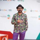 José Corbacho en la presentación de 'Tu cara me suena 7' en el FesTVal de Vitoria 2018